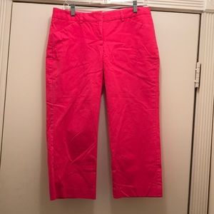 Express pink cotton Capri pants size 10
